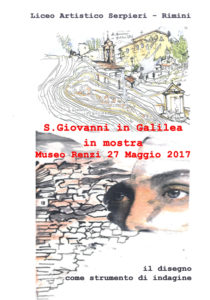 Locandina mostra San Giovanni in Galilea