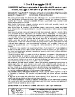 COBAS – il 3 e il 9 maggio 2017 SCIOPERO della Scuola contro i quiz Invalsi la Legge n 107-2015 e gli otto decreti attuativi