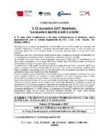 COMUNICATO STAMPA FLC CGIL-CISL SCUOLA-UIL SCUOLA-SNALS CONFSAL