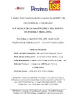 Locandina con specifiche Convegno USB Cestes 9 maggio Bologna