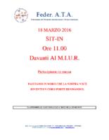 VOLANTINO SIT-IN SCIOPERO 18 MARZO 2016