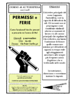 Volantino CPS – Autodifesa 9 novembre