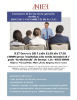 locandina seminari RIMINI