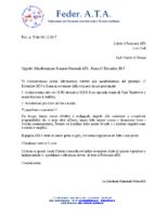 SCIOPERO ATA DEL 15 DICEMBRE 2017