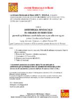 Indizione assemblea sindacale Rimini