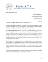 MALTEMPO CHIUSURA SCUOLE – PERSONALE ATA