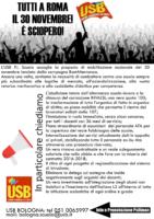 volantino sciopero 30 novembre
