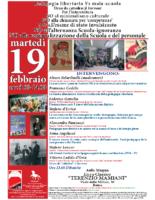 PED LIB Manifesto 19 Febbraio 2019 – Roma
