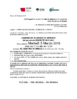 Assemblea Sindacale Unitaria FLC CGIL – CISL SCUOLA – UIL SCUOLA