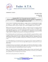COMUNICATO STAMPA INCONTRO ON. VILLANI FEBBRAIO 2019