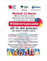 sit-in 12 marzo A 2