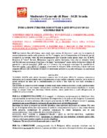 INDICAZIONI SCIOPERO BREVE INVALSI 2019