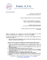 PROCLAMAZIONE STATO DI AGITAZIONE 16 SETTEMBRE 2019