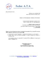 REVOCA E DIFFERIMENTO sciopero nazionale 27 novembre 2019 definitivo 11 DICEMBRE 2019