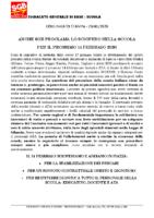 1°comunicato sciopero14febbraio