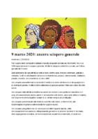 9 marzo 2020_ ancora sciopero generale