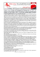 Comunicato Stampa 24.2.20 – Sciopero Scuola 6 Marzo