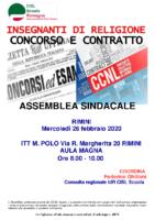 volantino assemblea sindacale IRC RIMINI