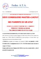 LOCANDINA MASTER 24CFU FEDERATA TI REGALA UN BONUS DI 50 EURO A FINE ESAME