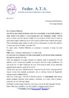 RICHIESTA INCONTRO AL PRESIDENTE DELLA REPUBBLICA PER I DGSA FF