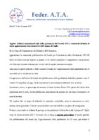 RICHIESTA AL CAPO DIPARTIMENTO PUBBLICAZIONE BANDO 24 MESI E PROROGA BANDO TERZA FASCIA