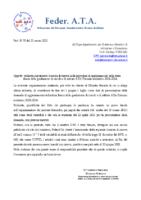 RICHIESTA CLAUSOLA RISERVA PER AGGIORNAMENTO GRADUATORIA DI TERZA FASCIA ATA